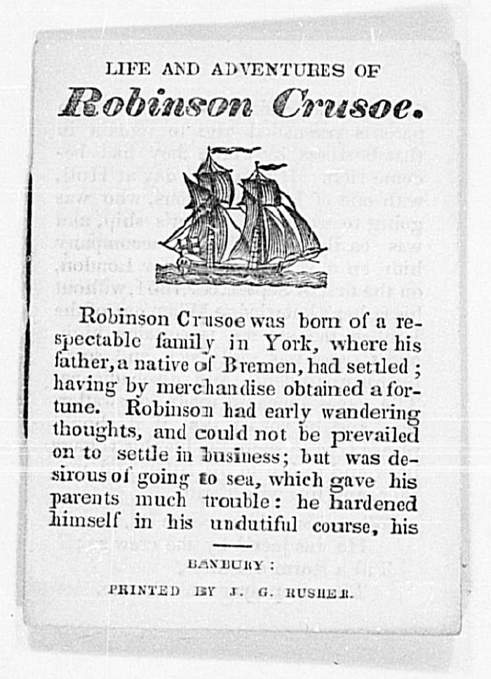 robinson crusoe essays Free essays on what are robinson crusoe s character traits get help with your writing 1 through 30.